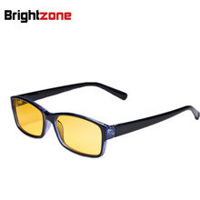 New Arrival Men Women Anti-Radiation/UV/Fatigue/Blue Light Blocking Computer/Gaming Eye Glasses Yellow Indoor Digital Eyewear(China)