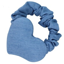 Love Heart Headband Blue women,s Hair Accessories Turbantes Mujer lady Hair Rubber Band Elastique ladies Hair Accessoires