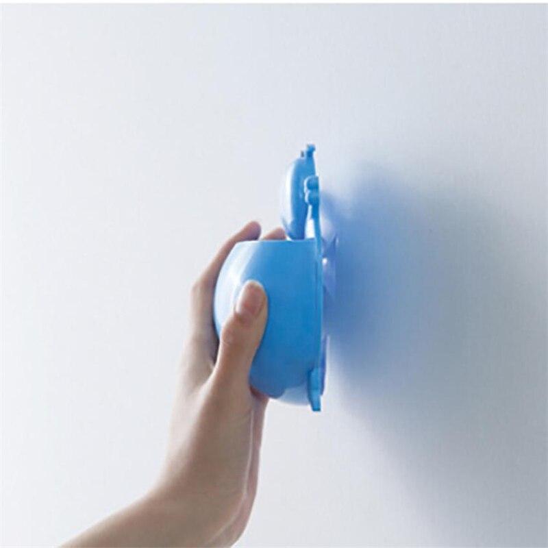 2018 new Cute Cartoon Sucker Hook Toothbrush Holder Bathroom Set6
