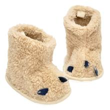 abcd New Fashion brand Children Baby shoes slippers Snow Boots Soft Crib Toddler Paws Boot Kids First Walkers For Girl Boy(China)