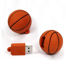 Football  disk Usb Flash Drive 64gb Pen Drive 32gb Pendrive 4gb 8gb 16gb Cartoon U Disk Flash Card hot sale Memory basketball