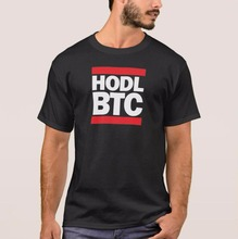 Buy 2017 New Funny Letter Printed Man Black T Shirt Design Tops Funny HODL BTC Bitcoin Cryptocurrency Print T-Shirt for $9.22 in AliExpress store