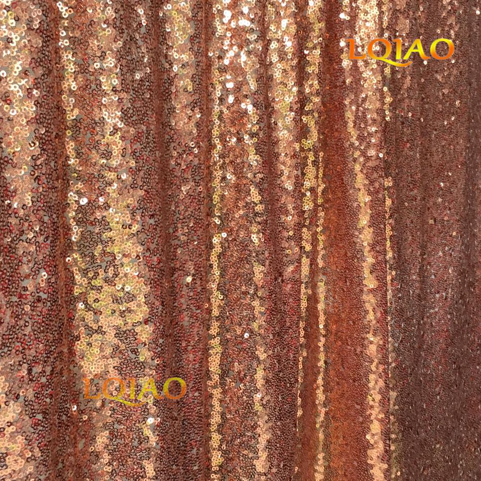 Rose Gold Sequin Backdrop-009