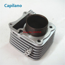 motorcycle cylinder block engine block kit with piston kit suit for SUZUKI GN125 bore 57mm engine parts