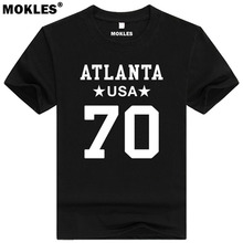 JAKE MATTHEWS 70 atlanta custom made name number t shirt missouri city texas t-shirt team usa black red print text word clothing(China)