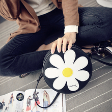 Classic Women Famous Brands Handbags Spring 2016 New Fashion Korea Cute Flowers Tote Shoulder Messenger Bag Handbag Sac Femme