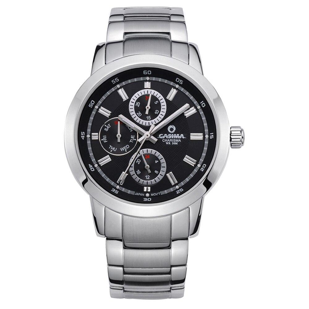 Men business watch Luxury brand watches dress leisure 2016 Top fashion quartz wrist watch mens waterproof  CASIMA #5105<br>
