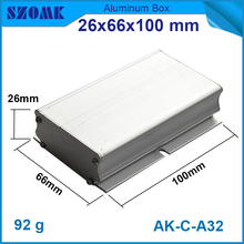 1 pcs/lot Extrusion Aluminum Material Electrical Junction Box Case Enclosure which can be used in electronics(China)