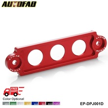 AUTOFAB -- EPMAN Aluminum Battery Tie Down for Honda Civic/CRX 88-00,For Integra, S2000 EP-DPJ001D