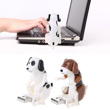 Portable USB gadgets Cute Dog Design USB Toy Relieve Pressure for Office Worker(China)