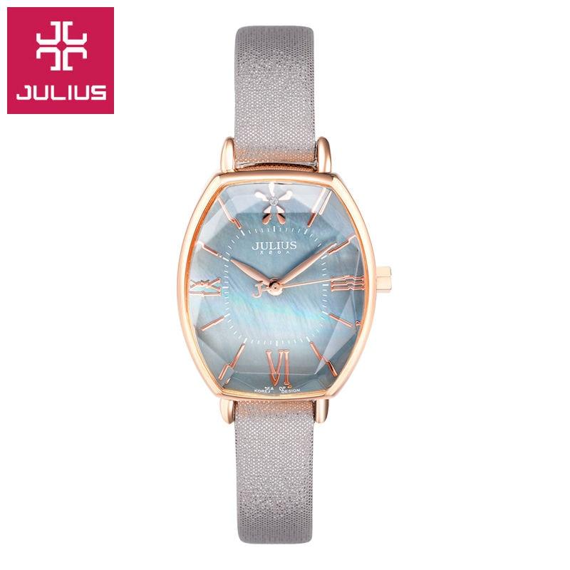 Julius Watch Kids Watch Women Watch Men Watch Couple Casual Fashion Simple Waterproof  Leather clock<br>