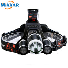ZK20 Hot sale 9000LM 4 Mode LED Headlamp headlight Energy Saving Outdoor Sports Camping Fishing Head Lamp LED Flashlights Light(China)