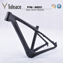 MTB bike cheap frames china Best Carbon MTB Frame 26er Mountain Bike Frames BB92 For 26ER wheels 14''16'' External Cable(China)