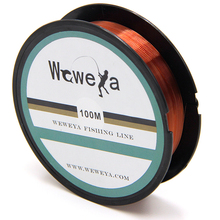 100M Fishing Line Strong Fluorocarbon Fishing Lines Monofilament Nylon Freshwater Saltwater Sink Fish line Accessories(China)