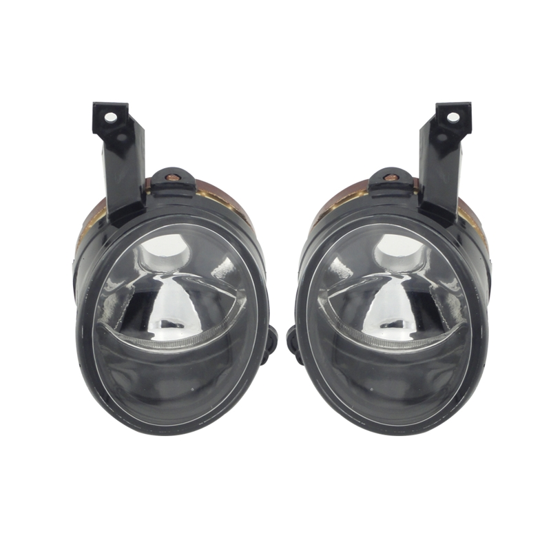 1Pair Fog Lights Front Bumper Lamps Without Bulbs For Volkswagen POLO Sedan Vento<br>