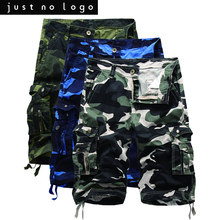 Mens Summer Casual Camoflage Combat Cargo Shorts Bermuda Work Military Army Fatigue Baggy Cargo Jogger with Side Pocket Shorts