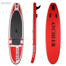 ANCHEER new 10ft Inflatable Stand Up Paddle Board iSUP with Adjustable Paddle Backpack(China)