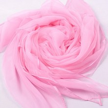 New Style Classic Mujeres Bufanda Chal Pink Women's Chiffon Scarf Rayon Shawl Chinese Tradional Scarves Size 140x170cm WS016-C