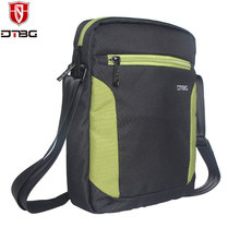DTBG Spring Design Men's Bag Messenger Bags High Quality Waterproof Shoulder Bag Tablet PC Sleeve bag(China)