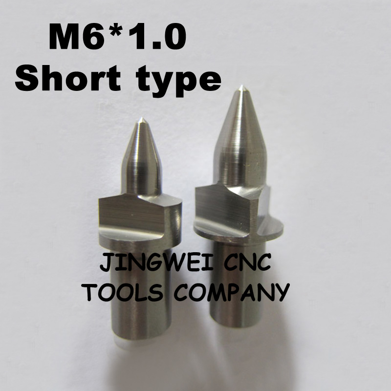 Tungsten carbide flow drill  M6 with flat short type<br>