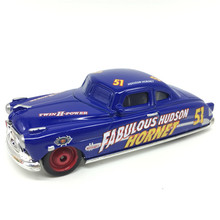 Cars 3 Diecast Doc Fabulous Hudson Hornet Metal Toy Car For Children Loose Brand New Collection Model(China)