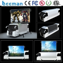 Leemanled P10 mobile Vehicle/truck/trailer/car moving advertising led display for sale smd p5 p6