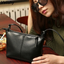 Velishy Vintage Mini Small Square Flap Bag Women Messenger Crossbody bags Sling Shoulder PU Leather Handbags Purses