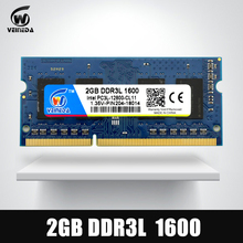 DDR3L 2GB 204PIN Ram DDR3L 1600Mhz PC3-12800 Compatible ddr3 1333 Memory Ram ddr 3 2gb For Intel AMD Laptop(China)