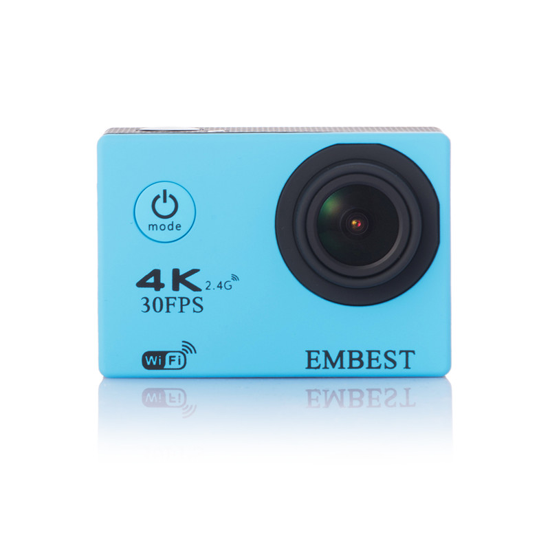 EMBEST 4K WIFI Sports Action Camera With Remote Control Ultra HD Waterproof Underwater 30M Camcorder 16MP 170 Degree Wide Angle 9