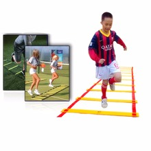 2016 New 8 rung Agility Ladder for Soccer Speed Football Fitness Feet Training Durable Height 21-22cm free shipping(China)
