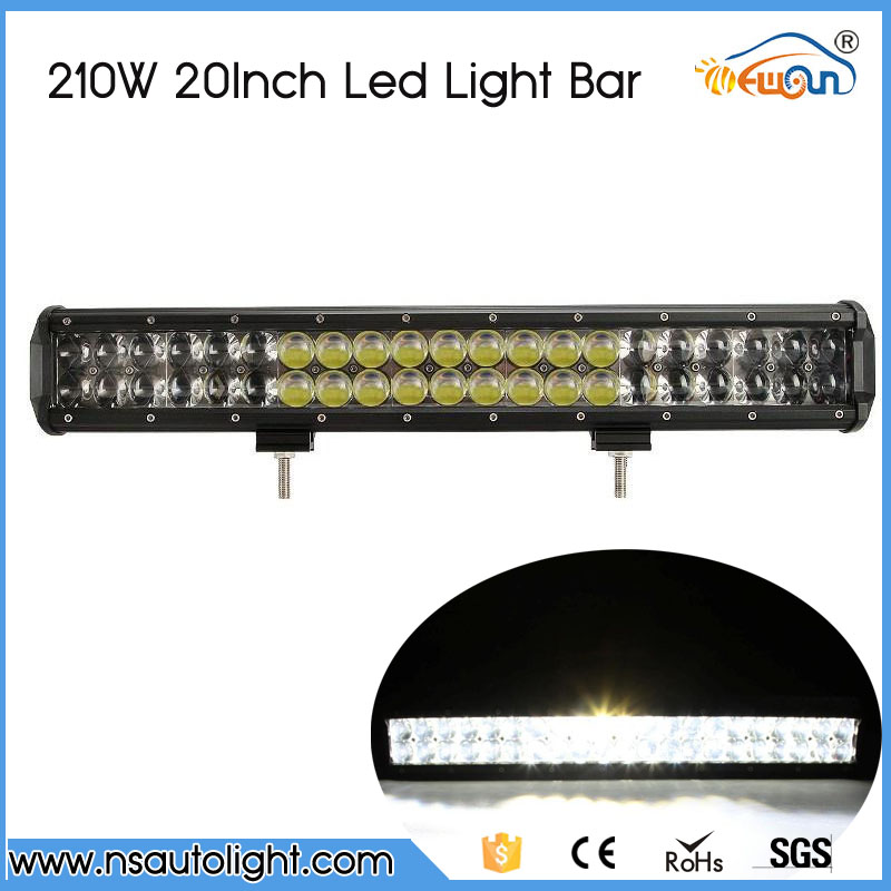 210W 20Inch 4D Straight LED Light Bar ATV SUV Car Led Light Offroad Work Lights 12v 24v Led Light Driving Lamp Combo Beam<br><br>Aliexpress
