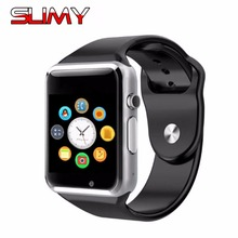 Slimy Smart Watch Phone Clock Sync Notifier Support SIM TF Card Connectivity Apple iphone Android Phone Smartwatch PK GT08 A1