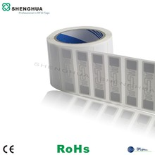 2000pcs/roll 74*23MM ALN 9662 ALIEN H3 RFID LABEL UHF LABEL FOR WAREHOUSE MANAGEMENT 960MHZ(China)