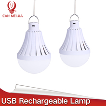 High Power Led E27 USB Rechargeable Emergency Bulb Lamp LED Bulbs 220V E27 Bombillas Led 12W 20W 30W 40W Outdoor Camp Lighting(China)