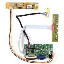 DVI VGA lcd controller board RT2281 work for 14.1inch LP141WX1 QD14TL02 1280x800 CCFL Backlight lcd panel