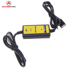 Auto Car USB Aux-in Adapter MP3 Player Radio Interface for Honda Accord/Civic/Odyssey/S2000 Car AUX Cable for Honda