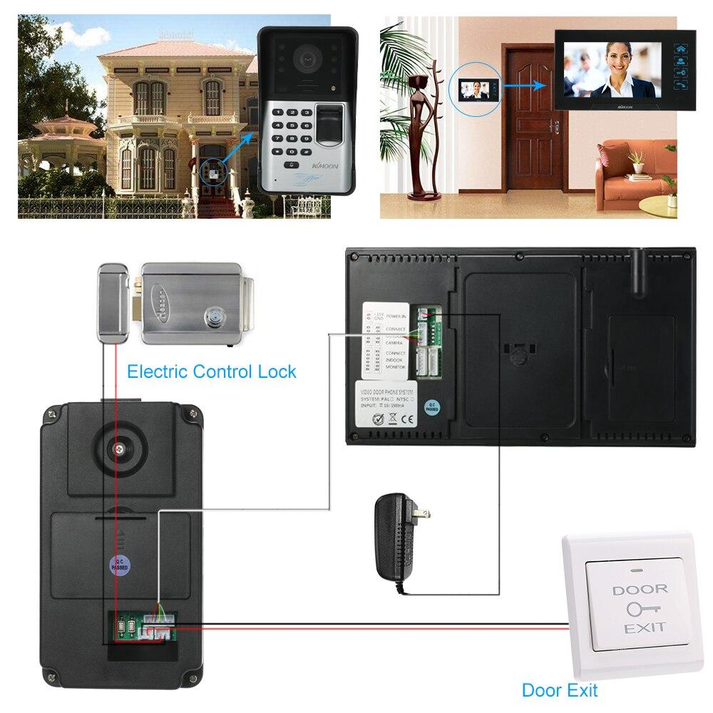 Hand-free Audio Tür Telefon Xinsilu Home Security Nicht-visuelle Gebäude Intercom System Für 8-wohnungen Passwort Entsperren