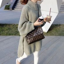 Anti season liquidation of New South Korean women's wear loose head thin, knitted coat(China)