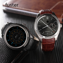 Fuster 3G WCDMA Android Smart Watch Wifi GPS Smartwatch 1.3 inch Round Touch Screen Wristwatch with Google Play Facebook Skype