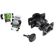 Insten Bicycle Phone Holder Bike Swivel Tube Stand Mounting Holder For iPhone Samsung LG GPS(China)