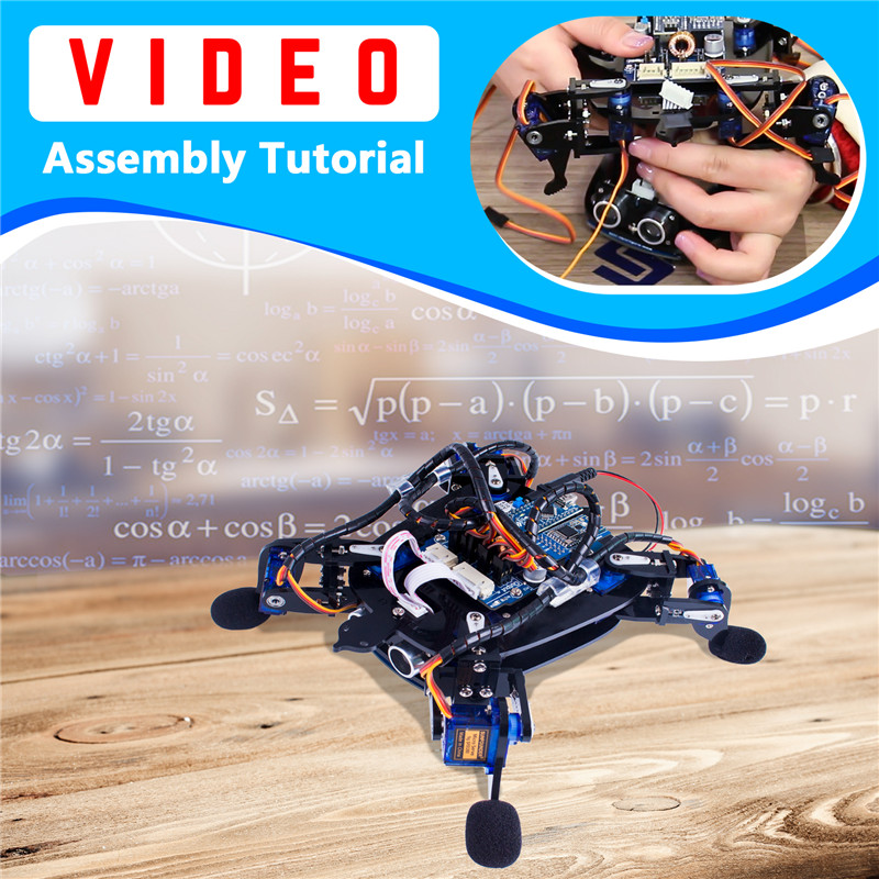APP Control Toy Robotics Kits (9)