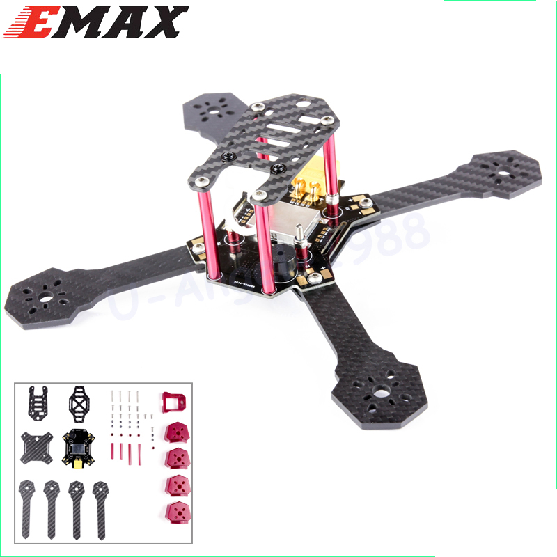 1 set Emax Nighthawk X5 200mm High Speed Carbon Fiber Frame Kit 5mm Arm With PDB Wholesale Dropship<br>
