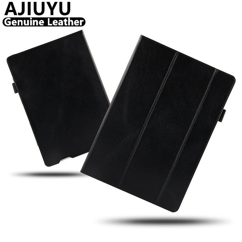Genuine Leather For Huawei MateBook E Case BL-W09 BL-W19 Case Cowhide MateBook HZ-W09 HZ-W19 Smart Cover Protective Tablet PC 12<br>