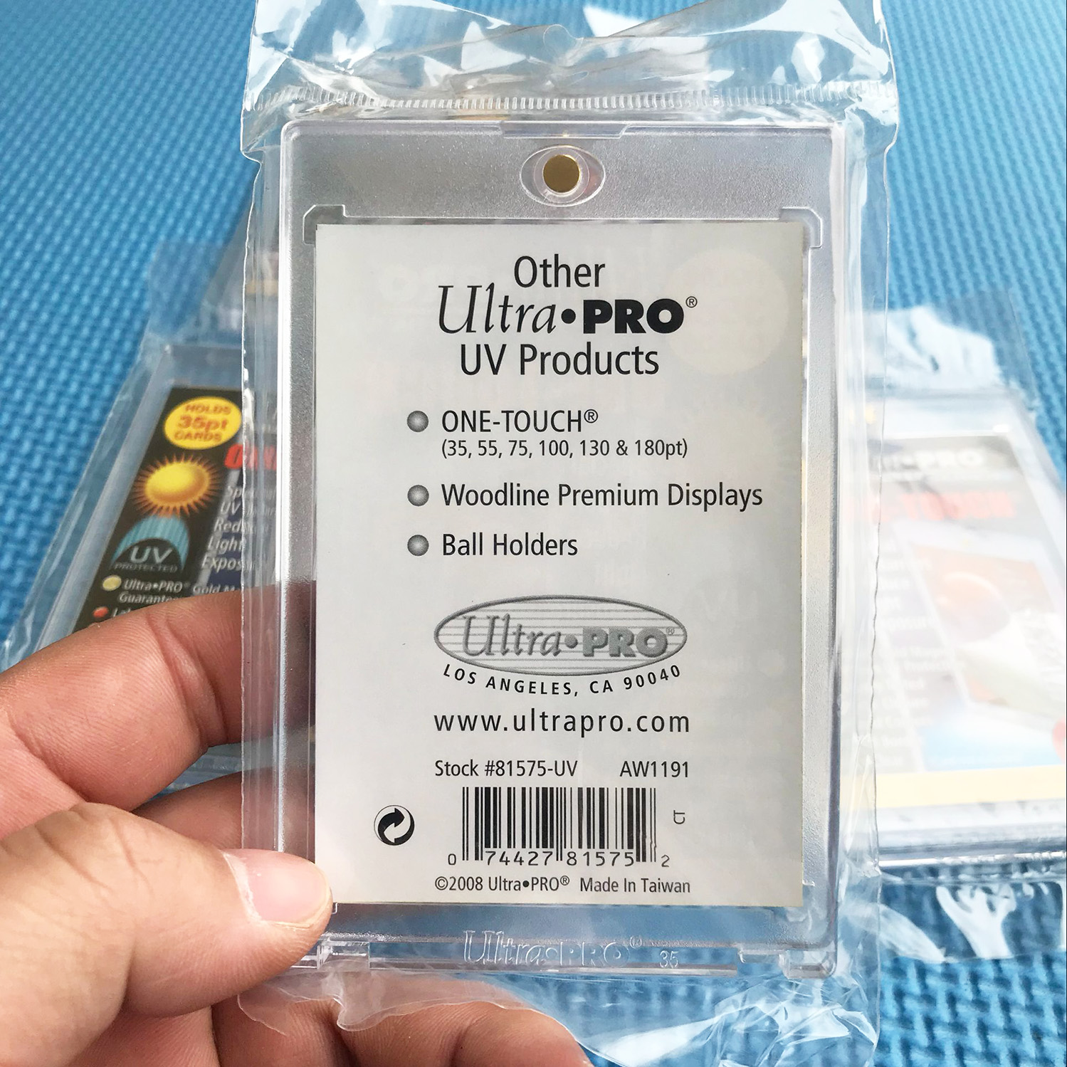 50 Ultra Pro One Touch Magnético 55pt Uv titular de tarjeta Display Funda 81909-uv 55