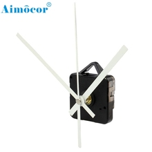 Home Wider Hot Selling High Quality Quartz Clock Movement Mechanism with Hook DIY Repair Parts + White Hands Free Shipping