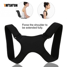 New Spine Posture Corrector Protection Back Shoulder Posture Correction Band Humpback Back Pain Relief Corrector Brace(China)
