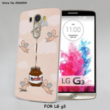 funny Chills Pills Chocolate Nutella Style Thin transparent Mobile phone shell Case for LG G6 G5 G4 K8 2017 K10 K5