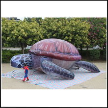 Free shipping 3m high,7.3m long giant inflatable turtle,inflatable sea turtle for advertising(China)