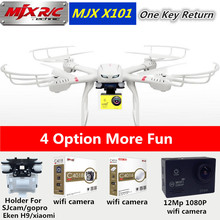 MJX X101 Professional Drones BIG Quadcopter wifi FPV Gimbal can Add C4005/C4008/C4010 720P HD Camera Real Time Video Drones