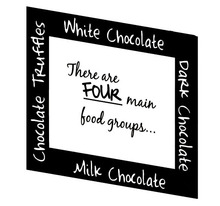 Chocolate Food Groups home decoration wall art decals living room decorative stickers bedroom wall sticker